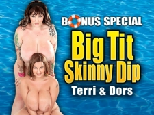 Big Tit Skinny Dip: Terri Jane & Dors Feline