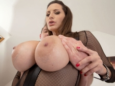 A Sperm Injection For A 34DDD Brunette