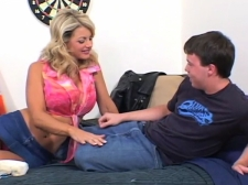 Mom Fucked By College Roommate Of Her Son