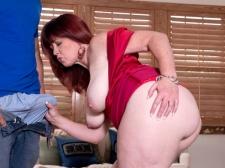 Heather's Ass Meets Unbending Cock