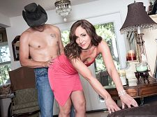 Once in a blue moon, Natalie acquires ass-fucked on-camera